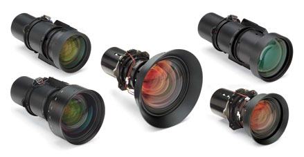 full suite of lenses