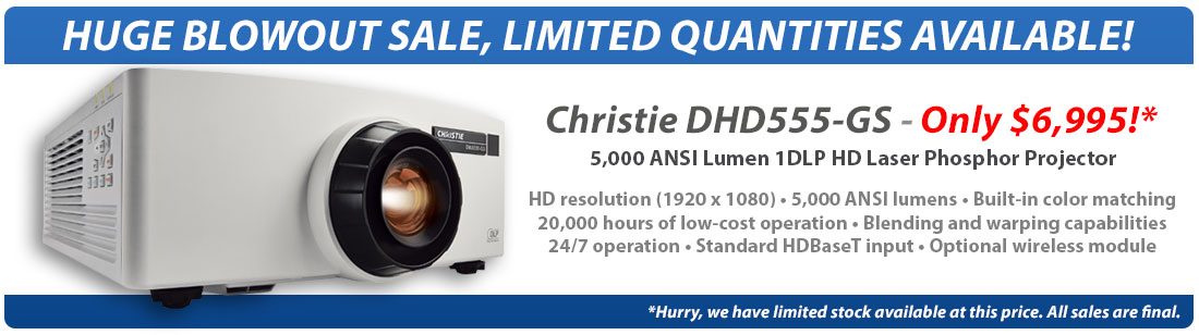 Christie DHD555-GS
